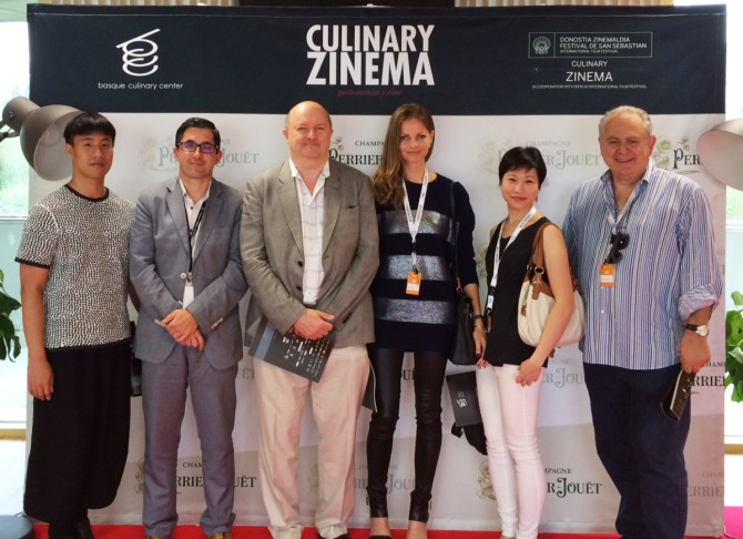 5 bloggers from FOODIES gathers for the first time together with the head of Basque Culinary Center
