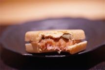 Foie Gras, Chestnut Monaka